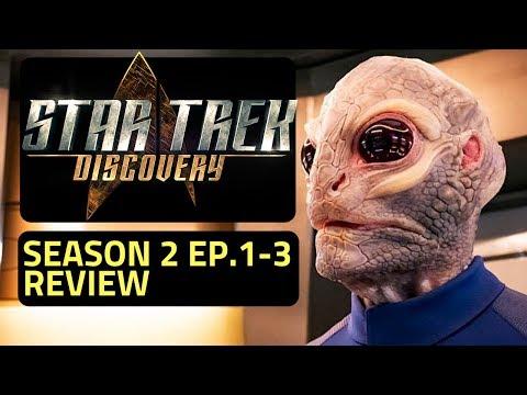 Star Trek Discovery Season 2 Netflix Original Series Review (Episodes 1-3)