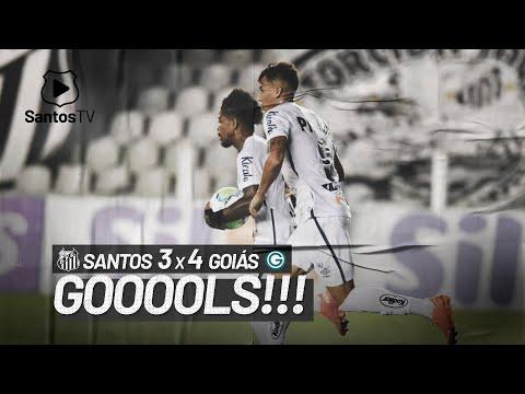 SANTOS 3 X 4 GOIÁS | GOLS | BRASILEIRÃO (24/01/21)