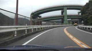 4K 下田→沼津最速ルート その2 静岡県河津町→伊豆市・大平ICまで