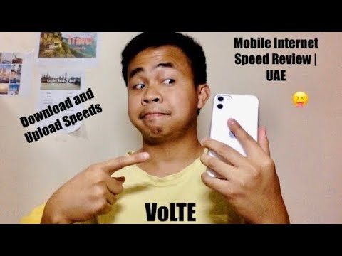 Mobile Internet Speed Review | UAE Version | Etisalat and Virgin Mobile