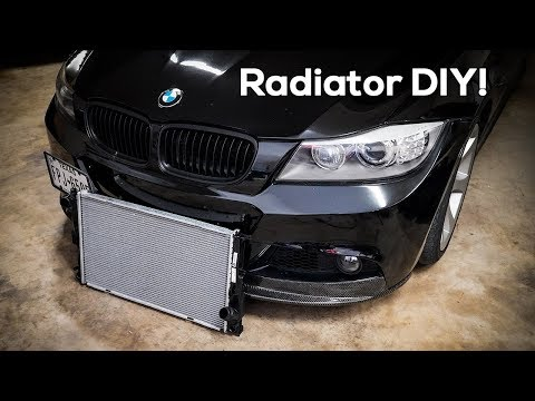 My Radiator Cracked! | BMW E90 DIY Replacement
