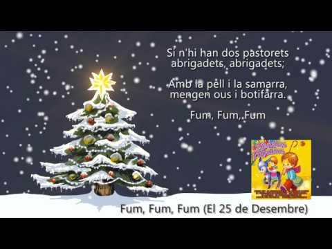 """Fum, Fum, Fum """"El 25 de Desembre"""" (amb Música i Lletra) - Coral El Virolet"""