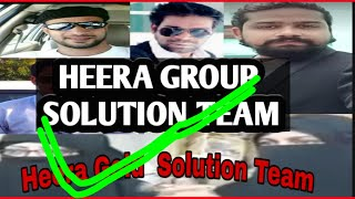 Heera Group Solution Team || By Khalil Ahmed Zakir