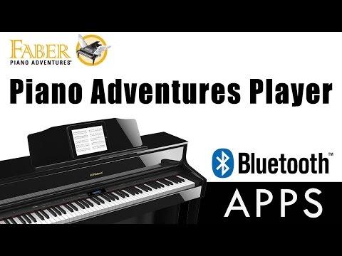 Faber Piano Adventures Player App for Bluetooth Pianos