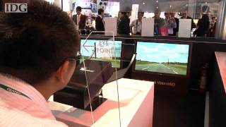 CEATEC: Pioneer has a laser-based head-up display for cars