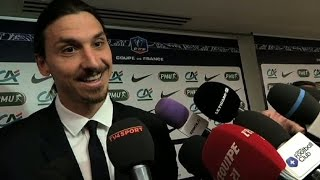 Zlatan Ibrahimovic hijacks the interview and turns it into a commercial - TV4 Sport