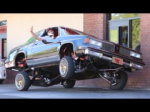 Lowrider in the Drive-thru - YouTube