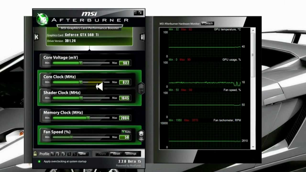 How to Overclock a Video Card - Beginners Guide - YouTube