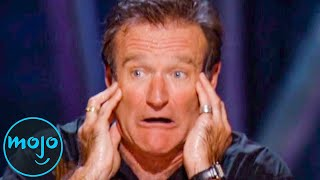 Top 10 Funniest Robin Williams Moments We'll Never Forget
