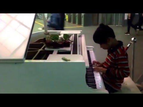 周愛翔Sean,美麗島鋼琴獨奏表演(二年級)