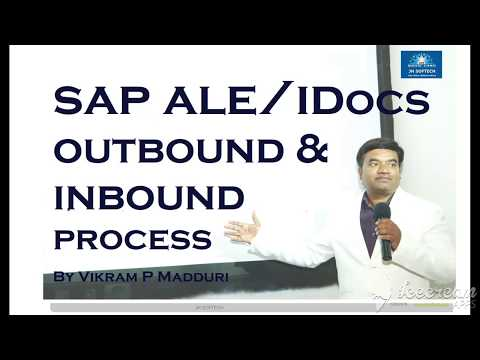 SAP ALE IDocs OutBound & Inbound Process Flow - YouTube