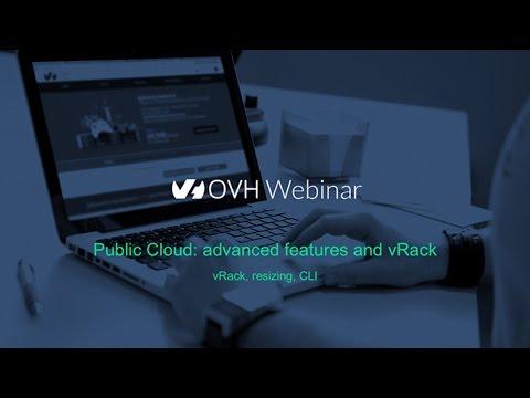 Public Cloud : fonctionnalités avancées et vRack