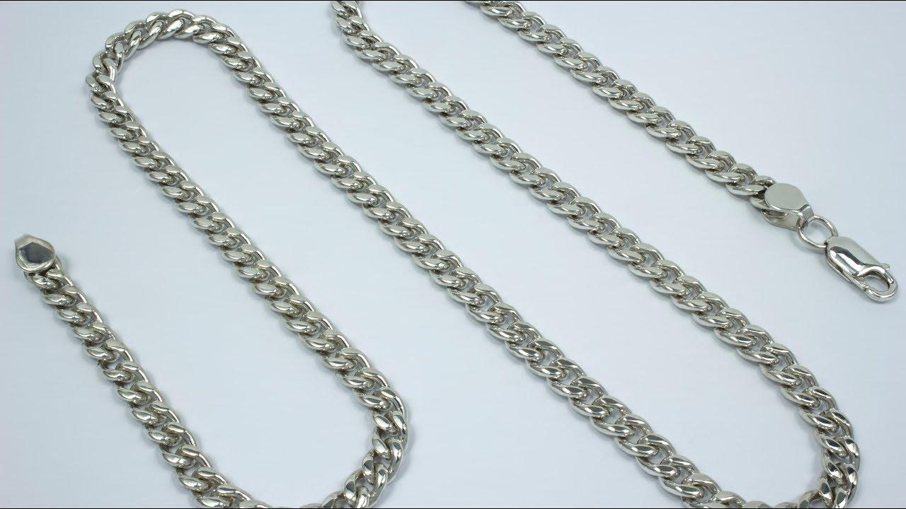 Массивная серебряная позолоченная цепь Cartier ( картье) с эмалью .