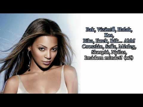 Beyoncé Signs (Magyarul, Hungarian Lyrics On Screen)