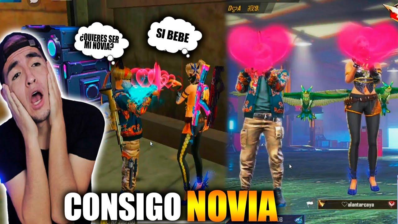 CONSIGO NOVIA en FREE FIRE y ME REGALA su WHATSAPP *final INESPERADO*