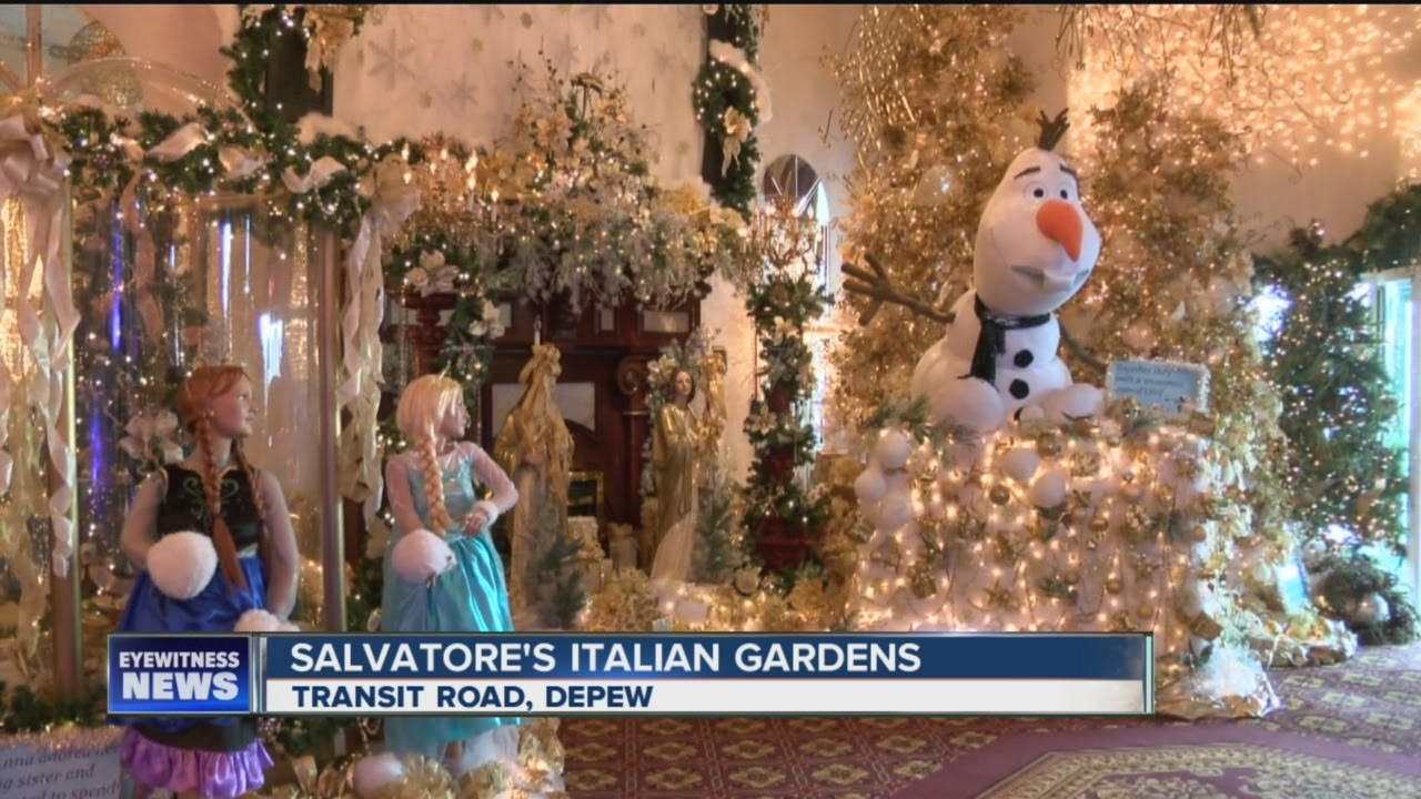 Christmas Lunch At Salvatores 2020 Salvatore's Christmas Decorations   YouTube
