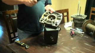 Warn winch M12000 repair and Upgrade! (Part 1)