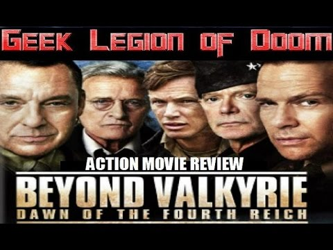 BEYOND VALKYRIE DAWN OF THE FOURTH REICH ( 2016 Stephen Lang ) Action Movie Review