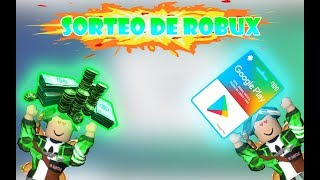 ROBUX SWEEPSTAKE OR GOOGLE PLAY CARDS!! 😃🎉