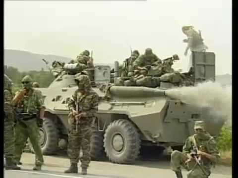 Russian recon unit near Gori, Georgia. August 2008