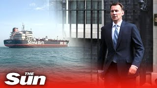 Jeremy Hunt condemns Iran's behaviour as 'state piracy'   Stena Impero thumbnail