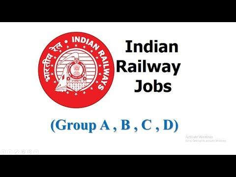 Railway Jobs (Group A , B , C , D)