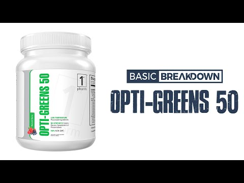 1st Phorm Opti-Greens 50 Superfood Supplement Review | Basic Breakdown