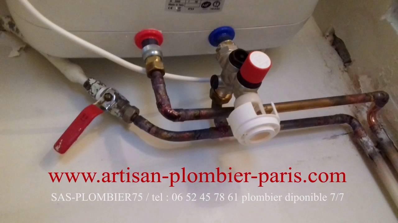 installation chauffe eau ariston andris lux youtube