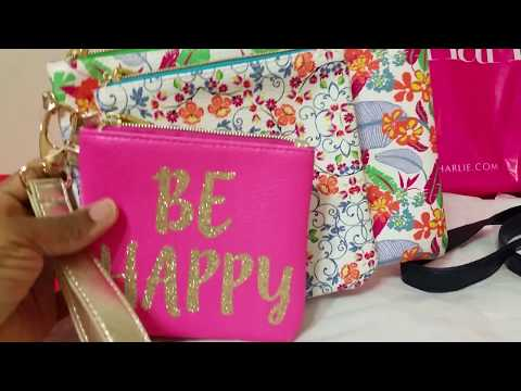Haul:  Target & Charming Charlie/  December (haul 2)2017/ Small handbag and accessories Haul!