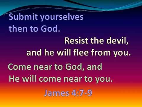 Kids Club James 4:7-9