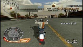 Harley-Davidson: Race to the Rally PS2 Gameplay HD (PCSX2)
