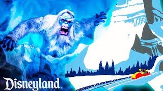 Matterhorn Bobsleds (Xtra Harold) On Ride POV Disneyland 7/2021 UHD 4K 60FPS