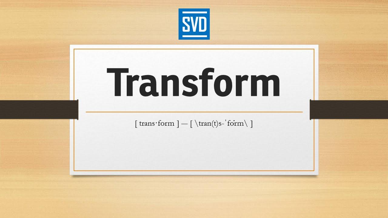 Rigid transformation