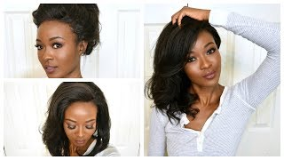 How to Install A 360 Lace Frontal Wig, No Glue, No Gel ft. RPGHair