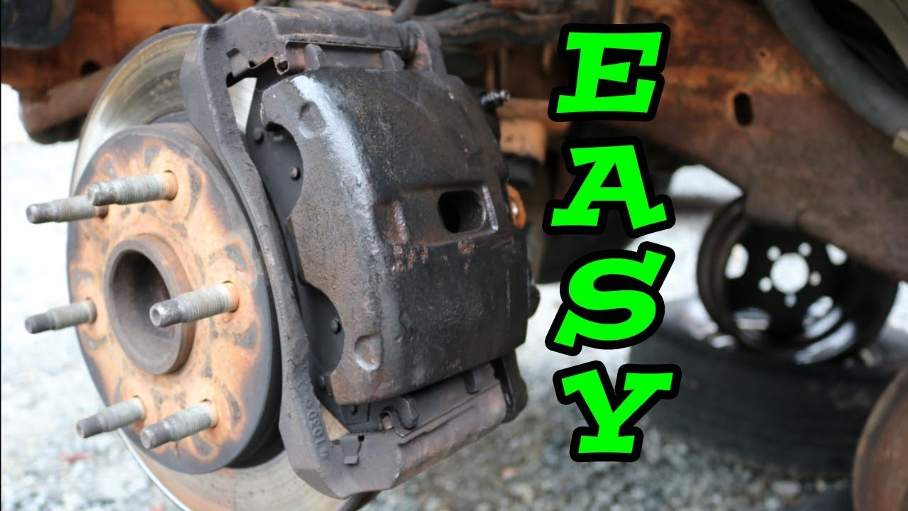 DIY How to Remove Replace BRAKE CALIPER (1997-2006 Chevy Truck)