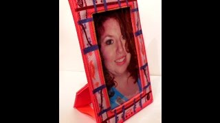 Zazzle.com Fabric Crafts - Washable Fabric Photo Frame Sewing Tutorial