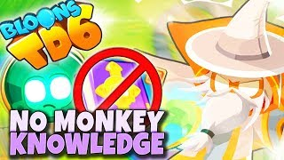 ❗ NEW ❗ NO MONKEY KNOWLEDGE | Bloons TD6 PL
