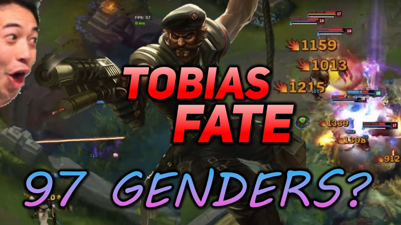 Tobias Fate Annie Bot Face Reveal 97 Genders Gangplank