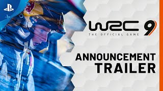 WRC 9 FIA World Rally Championship - Announcement Trailer | PS4, PS5