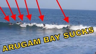 ARUGAM BAY SUCKS ASS