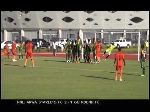 Akwa Starlets 2 1 Go Round FC Highlights