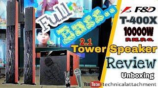 F&D T-400X Tower Speaker 10000W