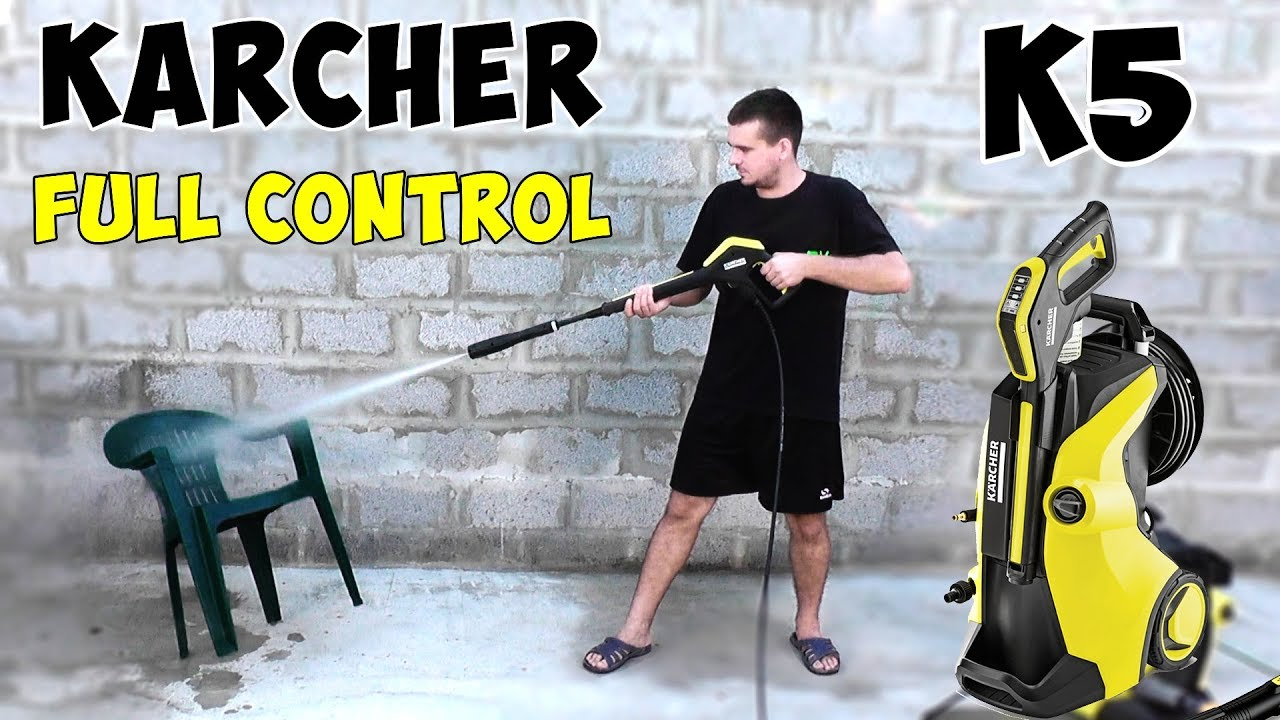 0b81392fda0 Review and assembly Karcher K5 Full Control - mini-wash for all occasions -  YouTube