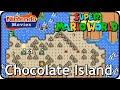 Super Mario World - World 6: Chocolate Island (Multiplayer Walkthrough,  All Exits)