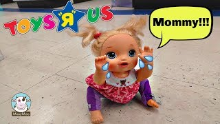 Baby Alive Juliet Gets Lost at Toys R Us In today's Baby Alive vide...