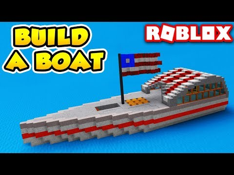 Awesome AMERICA Boat in Build a Boat for Treasure | Roblox