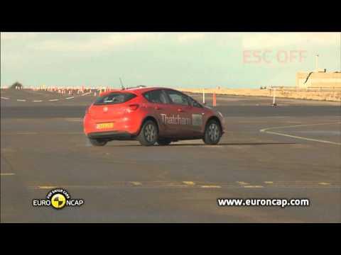 Euro NCAP | Opel/Vauxhall Astra | 2010 | ESC Test