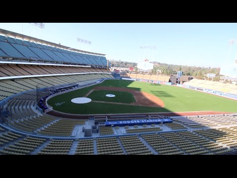 Exploring Los Angeles Dodgers Baseball Stadium