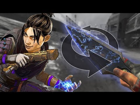 How to spin the knife in Apex Legends