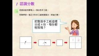 小學四年級數學科:分數 (一)